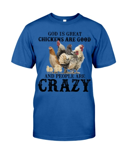 God is great chicken are good