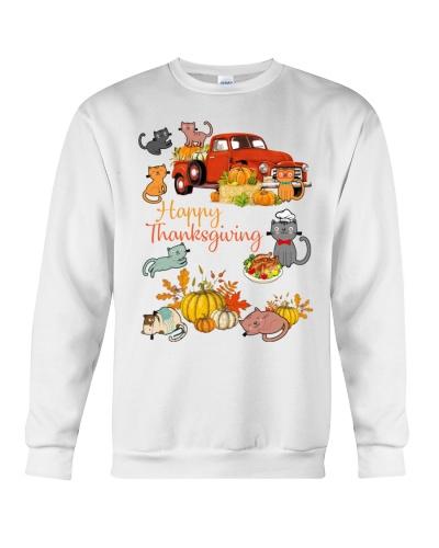 SHN Happy Thanksgiving truck Cat shirt