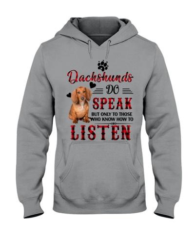 Dachshund do speak
