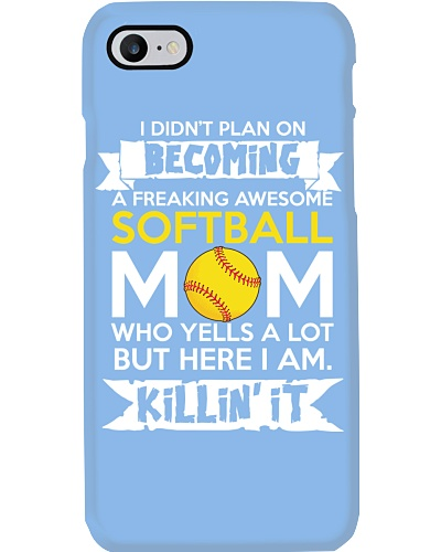 SHN Freaking awesome Softball mom yells a lot