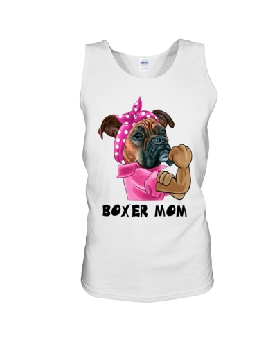 Boxer strong mom