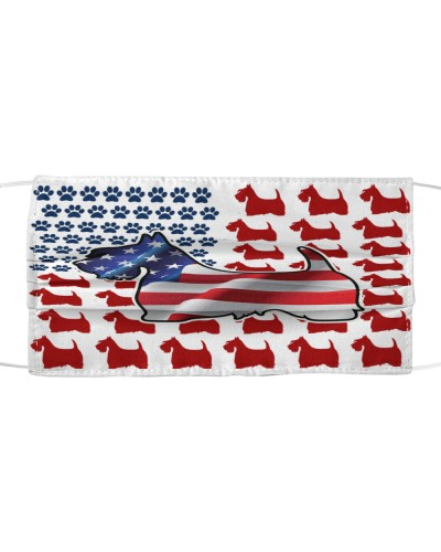 TTN 9 Scottish Terrier American Flag Reup