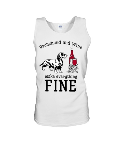 Dachshund wine is fine