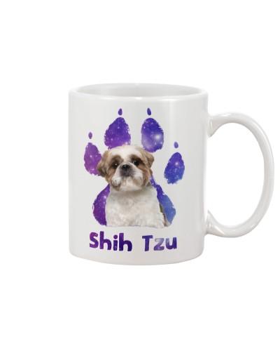 Shih tzu galaxy paws