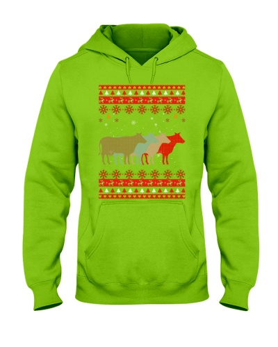 Ta Cow Vintage Christmas Ugly Sweater