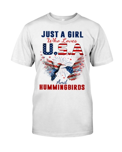 Just a girl who loves USA and hummingbirds