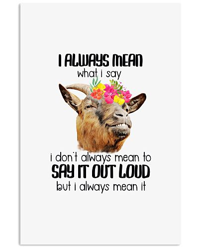 Goat Say It Out Loud