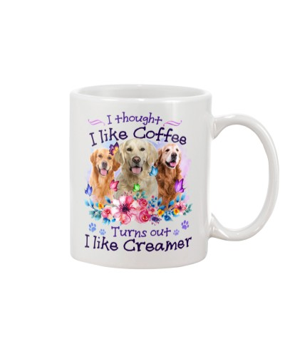 Golden retriever creamer
