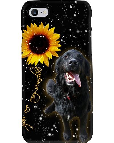 Dark Golden  U r my sunshine phone case