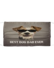 Th 5 Fox Terrier Best Dog Dad Ever Cloth face mask front