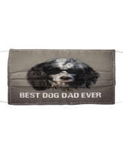 Th 5 English Setter Best Dog Dad Ever Cloth face mask front