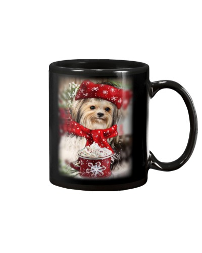 SHN 10 Ice coffee Yorkshire Terrier mug