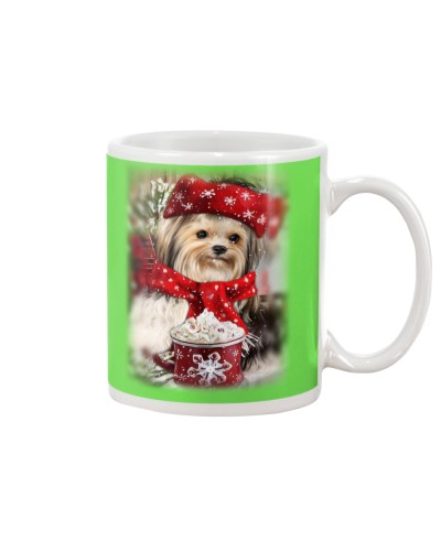 SHN 10 Ice coffee Yorkshire Terrier mug