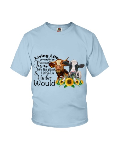Cow Heifer Jesus Take The Wheel
