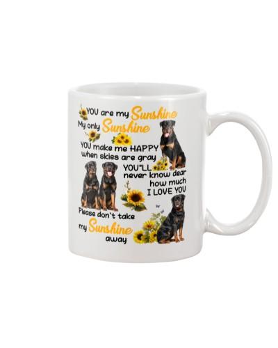 Not take my sunshine away luv U Rottweiler