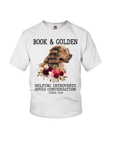 Avoid Conversation Golden Retriever