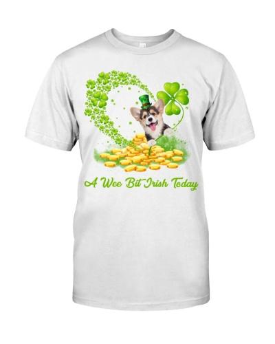A wee bit Irish today Corgi shirt