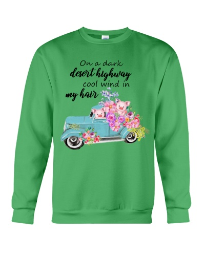 Ln 9 car watercolor pig