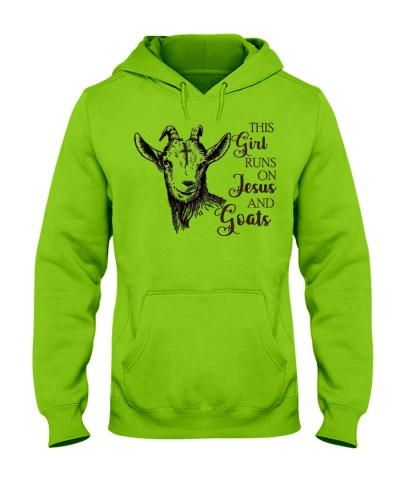 SHN Girl runs on Jesus and Goat