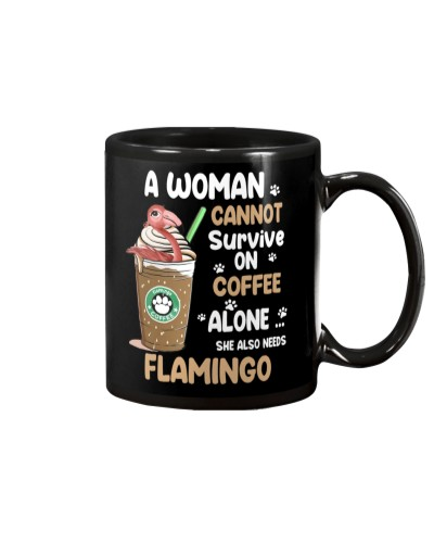 Flamingo And Coffee