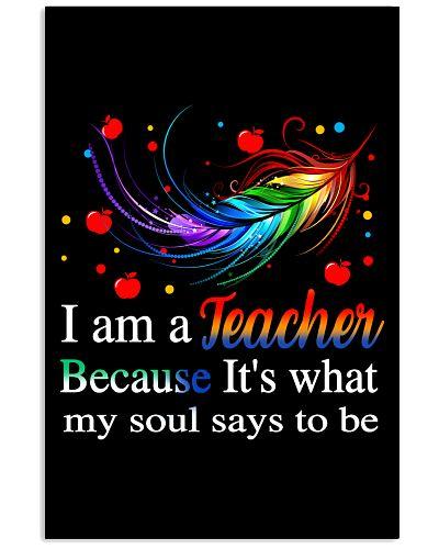 Teacher my soul says