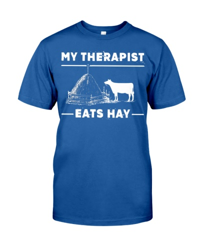 SHN 7 My therapist eats hay Cow