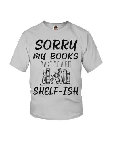 My books make me a bit shelfish