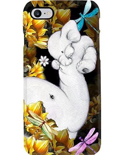 Elephant sunflower phone case
