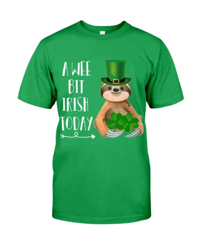 Just a wee bit irish today Sloth
