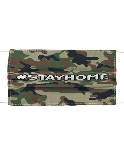 SHN 9 Camo Stay Home Face Mask