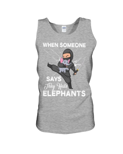 When someone says they hate elephants
