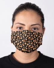 Shiba Inu Mini Dogs Cloth face mask aos-face-mask-lifestyle-01
