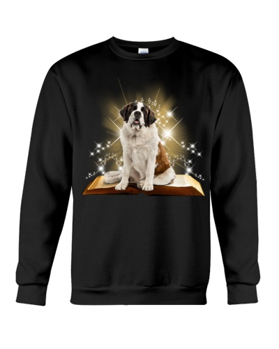 St bernard magical book