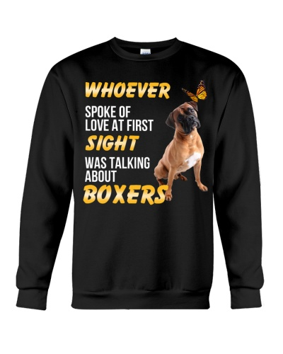 Boxer love at first sight