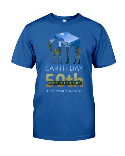 SHN Earth day 50th Anniversary Giraffe