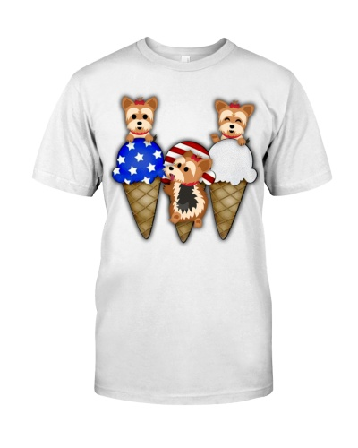 Yorkshire Terrier chibi ice cream