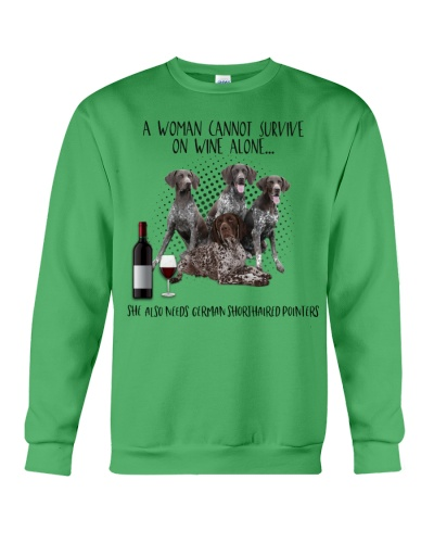 German shorhaired pointers wine she needs