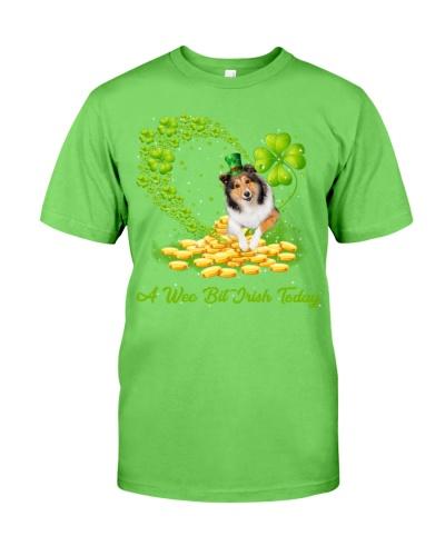 A wee bit Irish today Shetland Sheepdog shirt