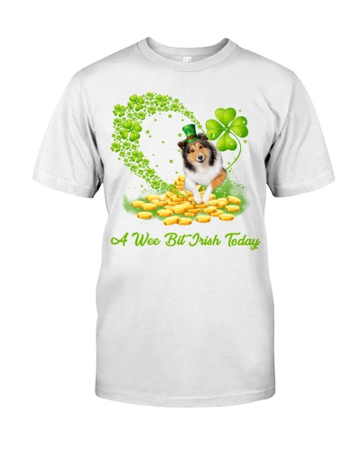 A wee bit Irish today Shetland Sheepdog shirt