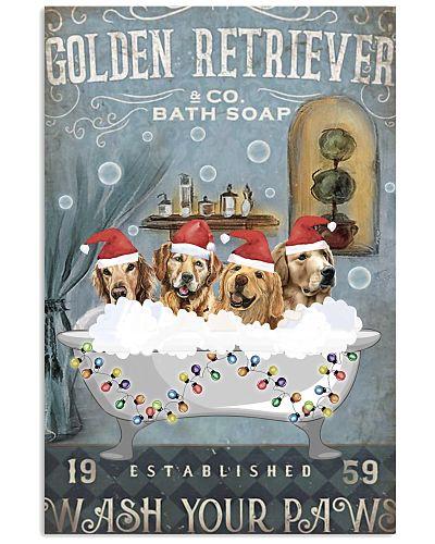 Golden retriever co bath soap