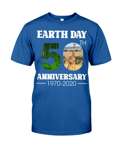 Earth day aniversity giraffe