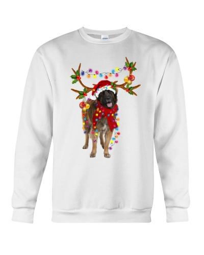 Leonberger gorgeous reindeer
