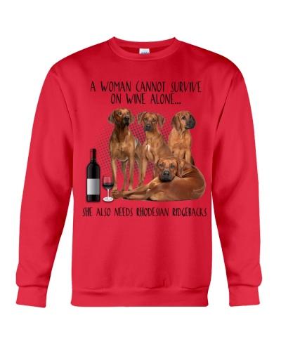Rhodesian ridgebacks wine she needs
