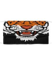 Th 2  tiger cartoon face Cloth face mask front