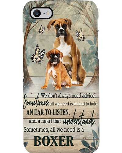 LT we need is a boxer dog