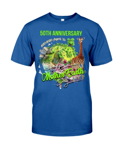 SHN 50th Anniversary Mother Earth day Giraffe