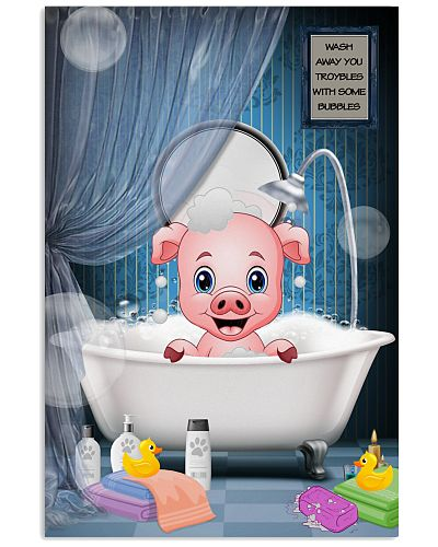 Pig like baby poster gift