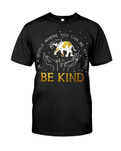 Elephant be kind in hand