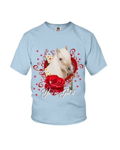 You ve got it Horse red heart
