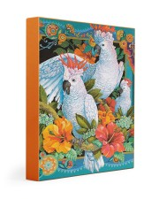 Umbrella Cockatoo In Tropical Forest Gallery Wrapped Canvas Prints tile